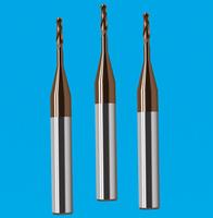 2刃深沟球头铣刀 纯钛车针
