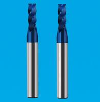 纳米蓝涂层圆鼻铣刀 高硬度圆鼻铣刀 2-4刃钨钢圆鼻铣刀