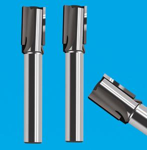 2刃焊刃式直槽铣刀 2刃直槽扩孔铣刀