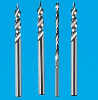 钨钢2刃导向螺旋钻头 2刃直柄钻头 2刃平底钻头