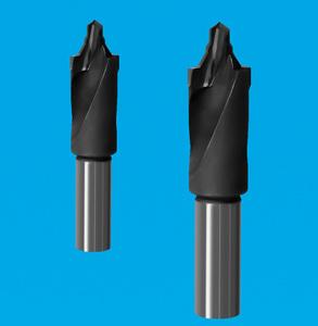 2刃焊接成型定心钻