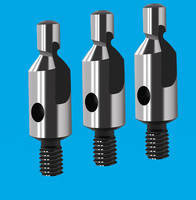 2-edge straight groove pitting drill for high-speed steel pitting drill