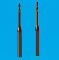 2刃深沟球头铣刀