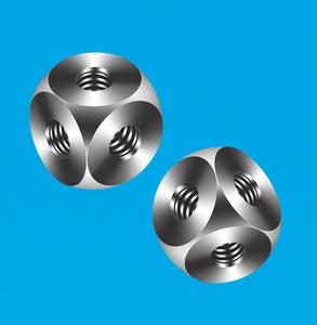 不锈钢球形配件 CNC不锈钢配件 车铣复合加工件