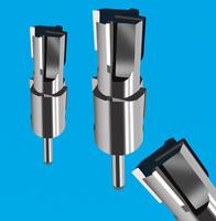 焊刃式4刃成型铣刀 焊接式阶梯成型刀
