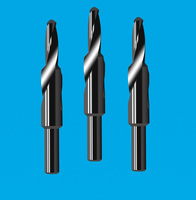 2-edge stepped drill 2-edge tungsten steel spiral stepped drill