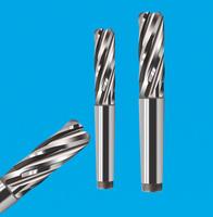 4刃焊接式螺旋铣刀 航空航天铣刀 高硬度焊接螺旋铣刀