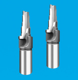 钨钢2刃成型钻铰刀 2刃钨钢直槽钻铰刀