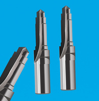 2-edge stepped butt welding forming drill reamer 2-edge stepped straight groove drill reamer