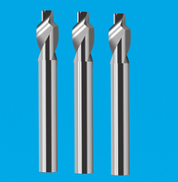 全体钨钢2刃螺旋阶梯铣刀 2刃螺旋成型铣刀