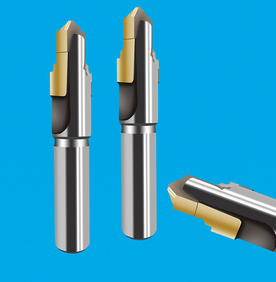 2刃焊刃式直槽阶梯钻 2刃焊接阶梯钻