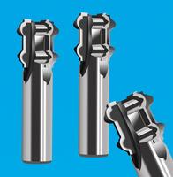 4刃阶梯成型铣刀 4刃阶梯圆弧铣刀