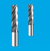 高硬度4刃螺旋铣刀 硬质合金4刃螺旋铣刀